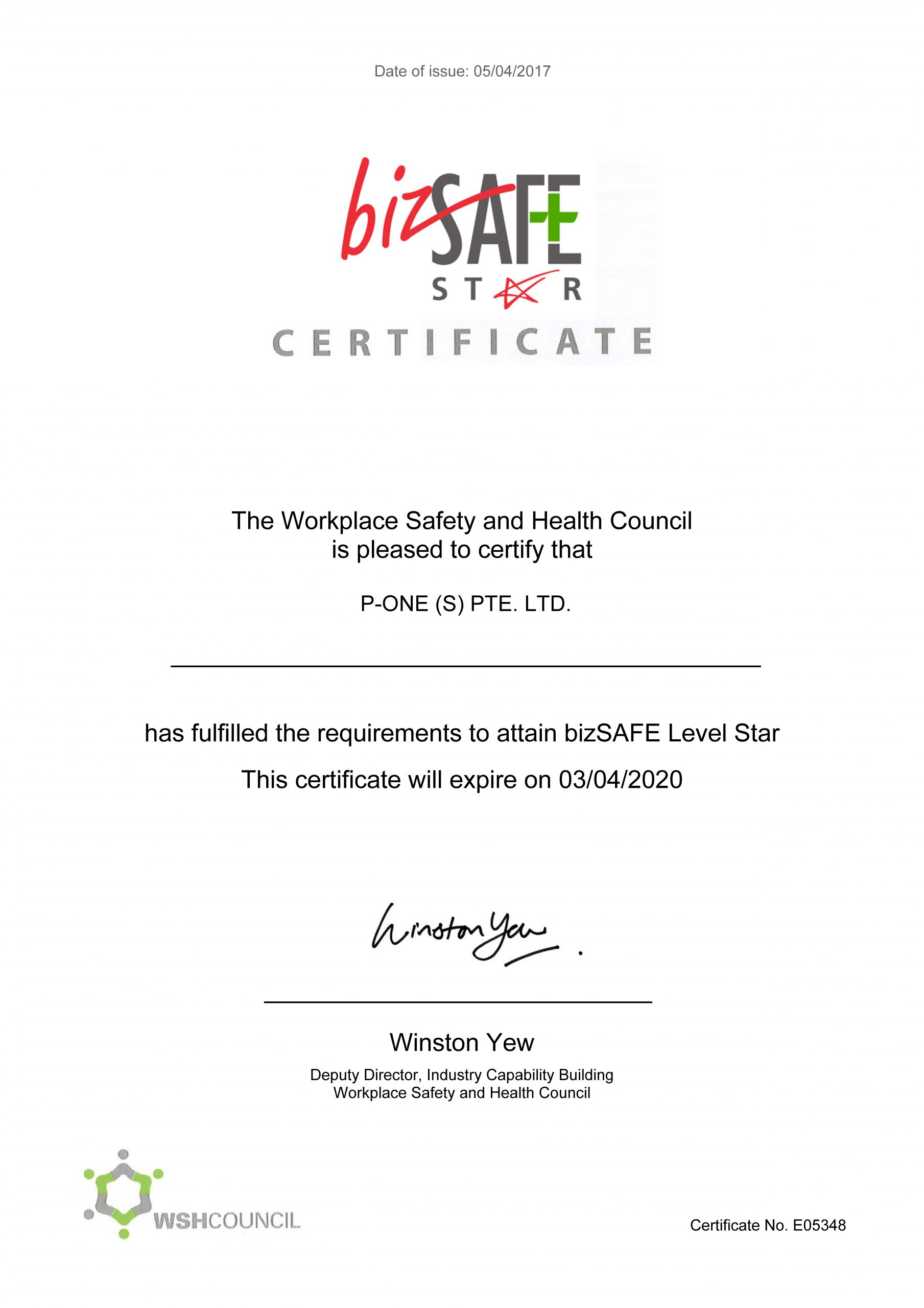 Workplace Safety and Health Management System
